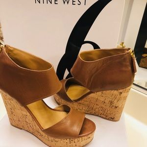 6.5 Nine West Wedges